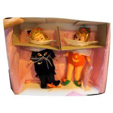 Madame Alexander Trick or Treat Dolls Set 61S Ltd Ed 3000 NIB 1993