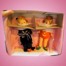 Madame Alexander Trick or Treat Dolls Set 61S Ltd Ed 3000 NIB 1993