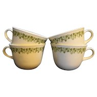 Corning Spring Blossom Cups Set of 4