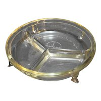 Pyrex Mealpack Divided Clear Glass Dish