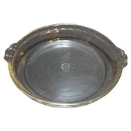 Pyrex Originals Clear Glass 10 IN Pie Plate Pan