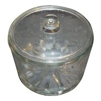 Sanitary Cheese Preserver Glass 1930s-40s