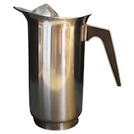 Cordova Stainless Steel Pitcher Riviera Japan 1969