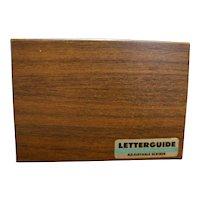 Letterguide Adjustable Scriber Precision Made Lettering Equipment