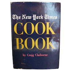 The New York Times Cookbook Craig Claiborne 1961 Hardcover