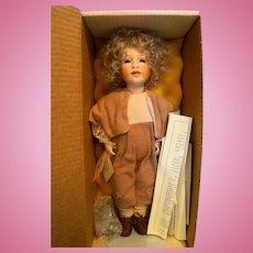 Lawton Doll Oliver Twist NIB L Ed 129/750 14 IN 1992 Childhood Classics II