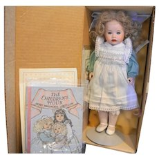 Lawton Doll Edith With Golden Hair NIB L Ed 106/500 14 IN 1991 Children's Hour