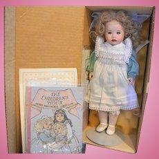 Lawton Doll Edith With Golden Hair NIB L Ed 106/500 14 IN 1991 Children's Hour