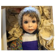 Lawton Doll The Dreamer Joseph NIB L Ed 299/500 14 IN 1994 Treasured Tales