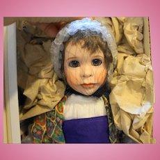 Lawton Doll The Dreamer Joseph NIB L Ed 299/500 14 IN 1994 Treasured Tales