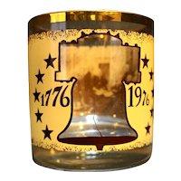 Declaration of Independence 1776-1976 Bicentennial Glass Tumbler