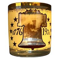 Declaration of Independence 1776-1976 Bicentennial Glass Tumbler