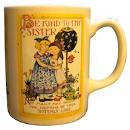 Mary Engelbreit Sisterly Love Be Kind To Thy Sister Mug Taiwan