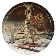Texas Ware Apollo 11 Neil Armstrong Moon Landing Souvenir Plate