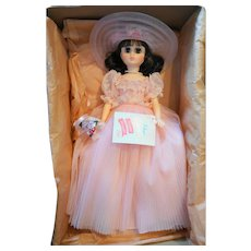 Madame Alexander Elise 1655 Brunette Bridesmaid NIB Vintage 17 IN