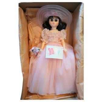 Madame Alexander Elise 1655 Brunette Bridesmaid NIB Vintage 17 IN
