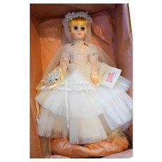 Madame Alexander Elise 1685 Blonde Bride NIB Vintage 17 IN