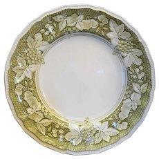 Somerset Kensington Staffords Green Dinner Plate Ironstone England