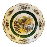 Ascot Village Wood & Sons England Service Charger Plate 10 1/2 IN