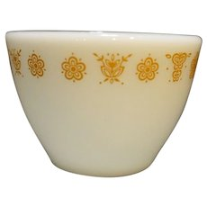 Pyrex Corning Butterfly Gold Sugar Bowl No Lid