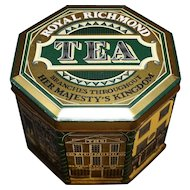 Royal Richmond Tea Canister England Vintage