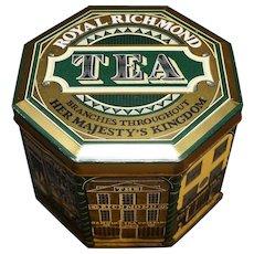 Royal Richmond Tea Canister England Vintage
