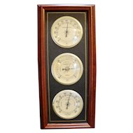 Sunbeam Weather Station Cherry Wood Frame