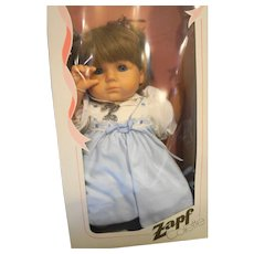 Zapf Creations Viola Colette Vintage Doll Made in Western Germany