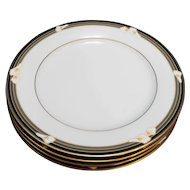 Noritake Ellington Salad Plates Set of 4