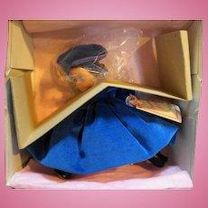 Madame Alexander Bonnie Blue Scarlett Series NIB 8 IN 1990s Miniature Showcase