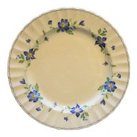 Mikasa Maxima Rotunda Dinner Plate Blue Floral