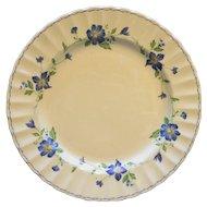 Mikasa Maxima Rotunda Dinner Plate Blue Floral