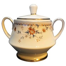 Noritake Adagio Victorian II Sugar Bowl With Lid