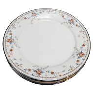 Noritake Adagio Victorian II Dinner Plates Set of 5 10 5/8 IN
