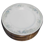 Noritake Limerick Keltcraft Ireland Bread Plates Set of 7 6 3/8 IN