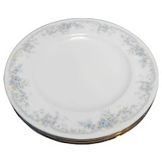 Noritake Limerick Keltcraft Ireland Salad Plates Set of 3 8 1/4 IN