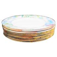 Arcopal France Virginia Salad Plates Set of 8