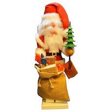Christian Ulbricht Erzgebirge Volzkunst Santa Christmas NIB West Germany 14 IN
