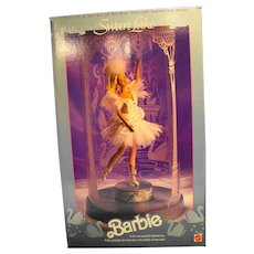 Swan Lake 1991 Barbie Doll 1648-9993 New In Box With Shipper