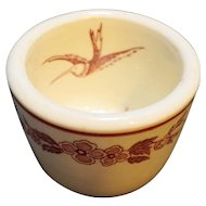 Jackson China Seagull Red Restaurant Ware Cup Custard Bouillon