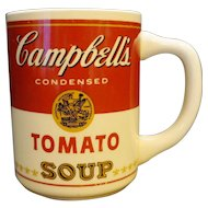 McCoy Campbell's Tomato Soup Can Mug Pottery