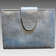 Rolfs Sky Blue Leather Wallet Coin Purse Ladies' Bifold