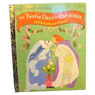 The Twelve Days of Christmas Little Golden Book 1992