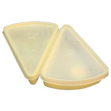 Tupperware 269 Pie Wedge Slice Keepers Millionaire Line