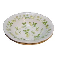 Petite Flora Ironstone Sears Japan Vegetable Serving Bowls