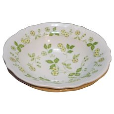 Petite Flora Ironstone Sears Japan Vegetable Serving Bowls