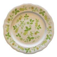 Petite Flora Ironstone Sears Japan Chop Plate Round Platter