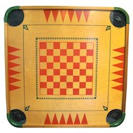 Merdel Carom Board #100 Game Board Only 1960s