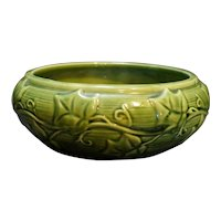 Shawnee Green Ivy 3025 Bulb Bowl Planter
