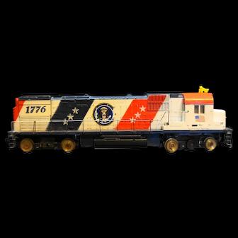 Mantua Tyco HO Diesel Spirit '76 1776 Bicentennial Engine